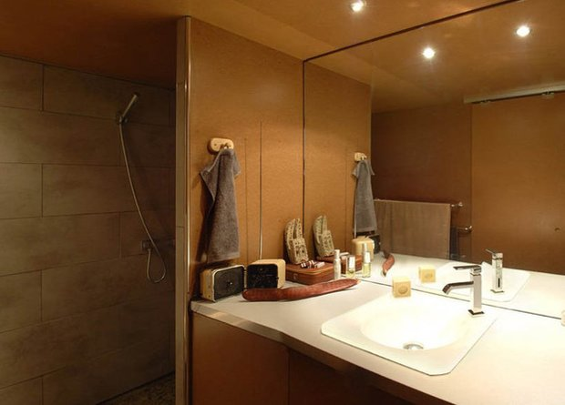 Фотография: Ванная в стиле Лофт, DIY, Дом, Дома и квартиры, Переделка – фото на INMYROOM