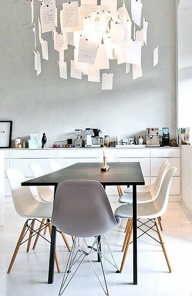 Фотография: Кухня и столовая в стиле Лофт, Скандинавский, Текстиль, Дизайн интерьера, Ремонт, Краска – фото на INMYROOM