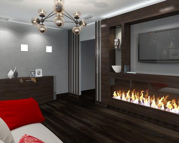 Фотография:  в стиле , Квартира, Планировки, Хранение, Мебель и свет, Минимализм, Проект недели – фото на InMyRoom.ru