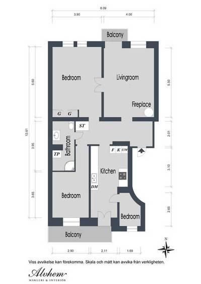 Фотография:  в стиле , Квартира, Швеция, Мебель и свет, Дома и квартиры, Гетеборг – фото на INMYROOM