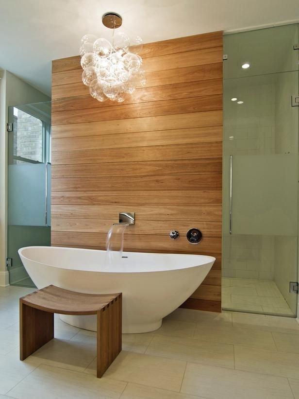 Фотография: Ванная в стиле Классический, Эко, Современный, Декор интерьера, Дизайн интерьера, Декор, Зеленый, Ванна – фото на INMYROOM