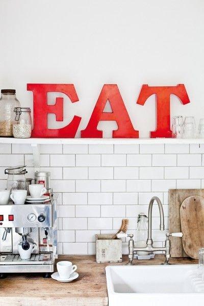 Фотография: Кухня и столовая в стиле Лофт, Декор интерьера, Квартира, Дома и квартиры – фото на InMyRoom.ru