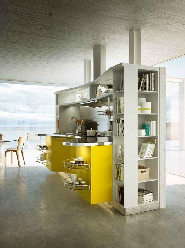 Фотография: Кухня и столовая в стиле Лофт, Хай-тек, Интерьер комнат – фото на INMYROOM