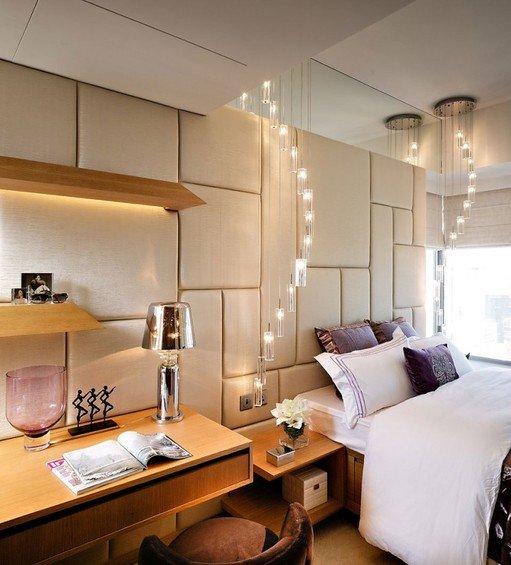 Фотография: Спальня в стиле Современный, Декор интерьера, Мебель и свет, Светильник – фото на INMYROOM
