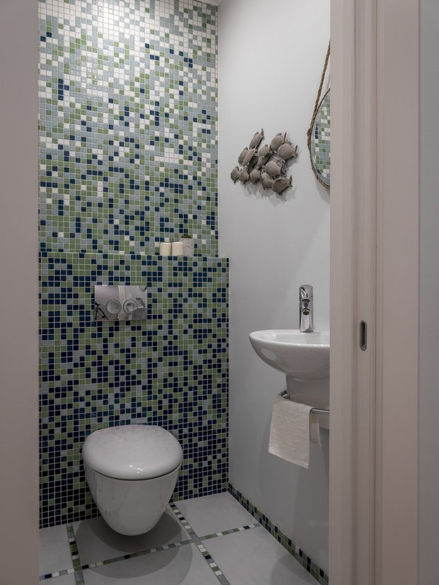 Фотография: Ванная в стиле Современный, Советы, санузел, Jacob Delafon, дизайнерская сантехника, как реже убираться, уборка в ванной, порядок в ванной – фото на INMYROOM