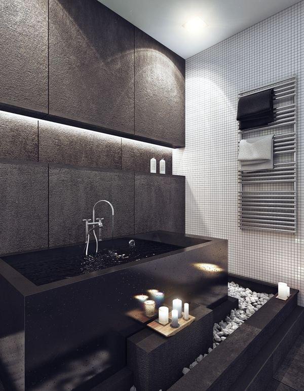Фотография: Ванная в стиле Современный, Эко, Декор интерьера, Декор, Мебель и свет, освещение – фото на INMYROOM