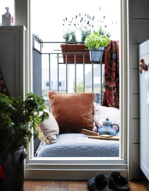 Фотография: Балкон, Терраса в стиле Скандинавский, Современный, Интерьер комнат, Барная стойка – фото на INMYROOM