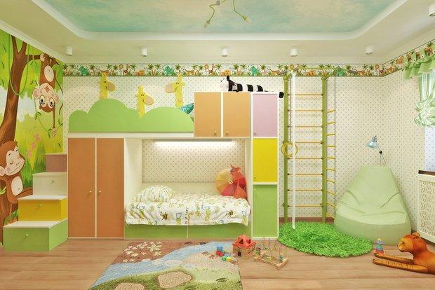 Фотография: Детская в стиле Современный, Классический, Декор интерьера, Дом, Архитектура, Минимализм – фото на INMYROOM