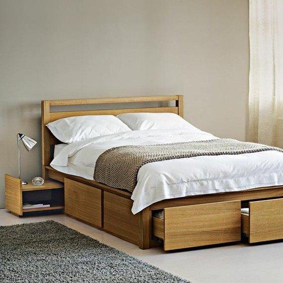 Фотография: Спальня в стиле Современный, Эко, Гардеробная, Декор интерьера, Интерьер комнат, Системы хранения, Кровать, Гардероб – фото на INMYROOM