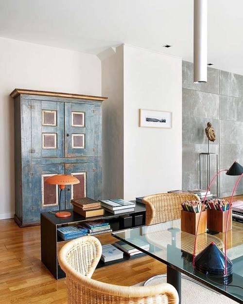 Фотография: Гостиная в стиле Эклектика, Декор интерьера, Квартира, Дома и квартиры, Майорка – фото на InMyRoom.ru