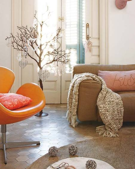 Фотография: Гостиная в стиле Эклектика, Декор интерьера, Квартира, Дома и квартиры, Барселона, Модерн – фото на INMYROOM