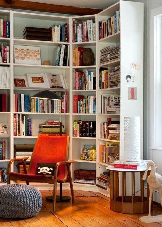 Фотография: Мебель и свет в стиле Прованс и Кантри, Лофт, Хранение, Стиль жизни, Советы, Библиотека – фото на INMYROOM