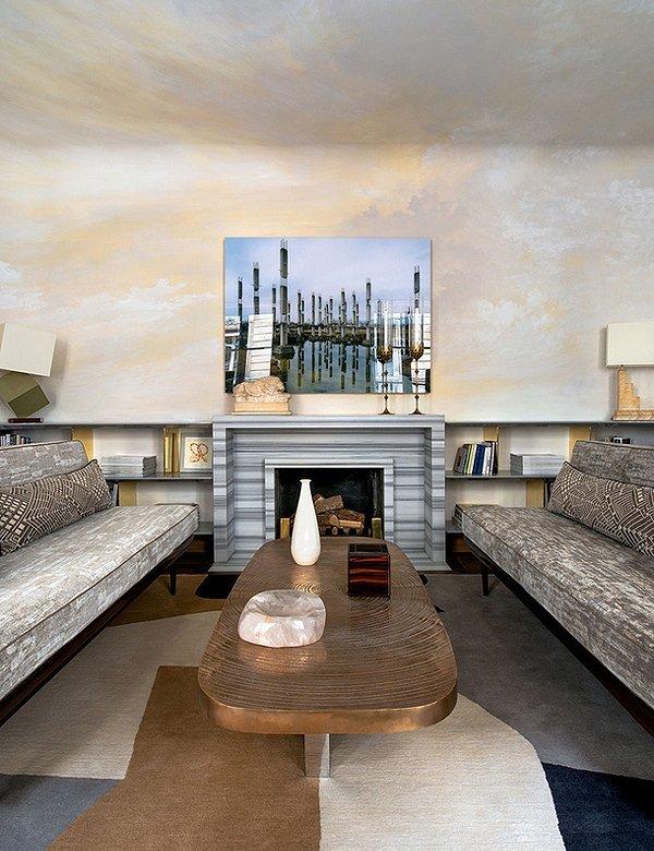 Фотография: Гостиная в стиле Современный, Малогабаритная квартира, Квартира, Франция, Дома и квартиры, Париж – фото на INMYROOM