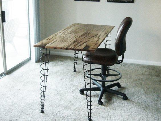 Фотография: Кухня и столовая в стиле Эклектика, Кабинет, Интерьер комнат – фото на INMYROOM