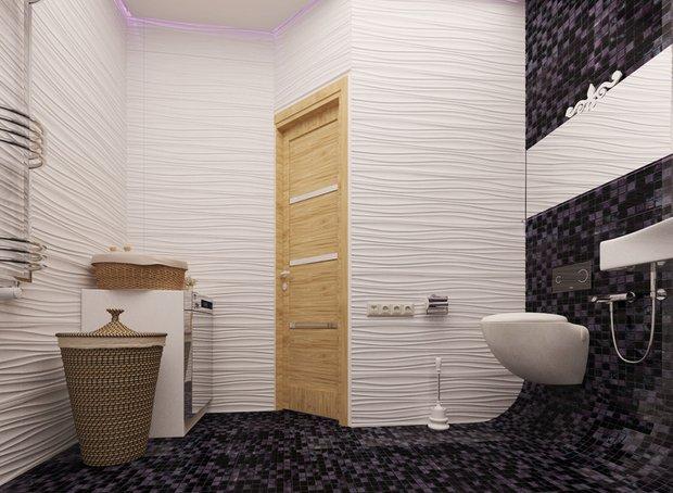 Фотография: Ванная в стиле Современный, Минимализм, Эко, Скандинавский, Проект недели – фото на INMYROOM