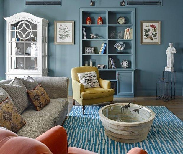 Фотография:  в стиле , Декор интерьера, Декор дома, Цвет в интерьере – фото на InMyRoom.ru