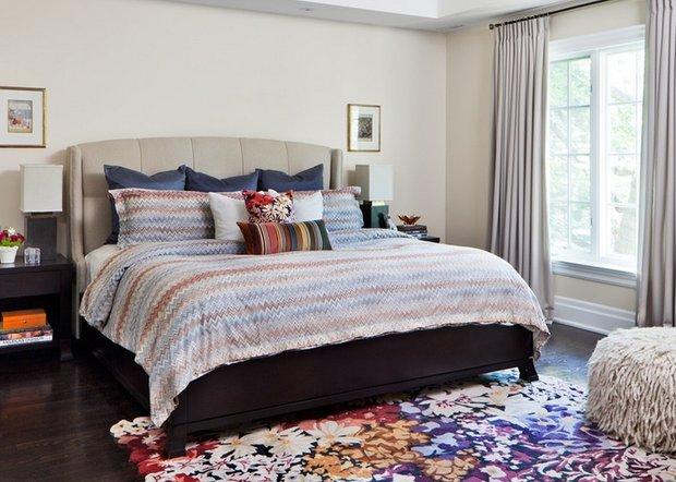 Фотография: Спальня в стиле Эклектика, Декор интерьера, Дом, Декор дома, Текстиль – фото на INMYROOM