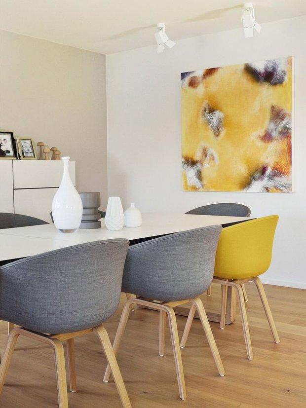 Фотография: Кухня и столовая в стиле Современный, Скандинавский, Советы, Белый – фото на INMYROOM