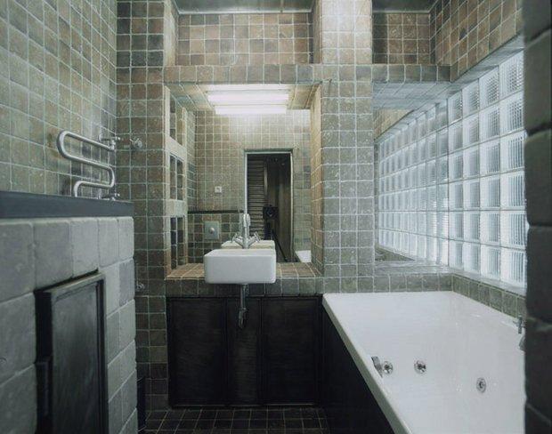 Фотография: Ванная в стиле Современный, Квартира, Дома и квартиры, Интерьеры звезд – фото на INMYROOM