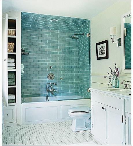 Фотография: Ванная в стиле Скандинавский, Мебель и свет, Советы, Ремонт на практике – фото на INMYROOM