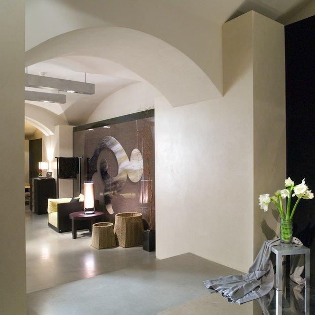 Фотография: Гостиная в стиле Современный, Декор интерьера, Декор дома, Декоративная штукатурка – фото на INMYROOM