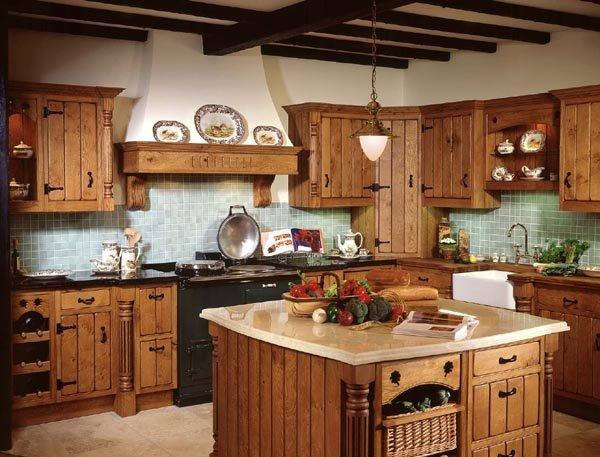 Фотография: Кухня и столовая в стиле Прованс и Кантри, Интерьер комнат, Интерьерная Лавка – фото на INMYROOM