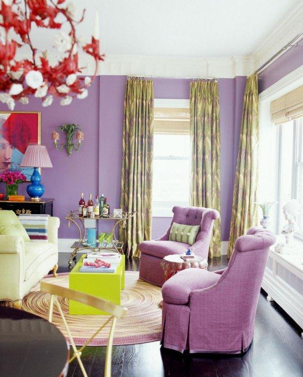 Фотография: Гостиная в стиле Прованс и Кантри, Современный, Декор интерьера, Дизайн интерьера, Цвет в интерьере – фото на INMYROOM