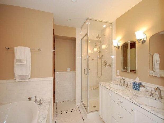 Фотография: Ванная в стиле Эклектика, DIY, Интерьер комнат, Советы, Ремонт на практике – фото на INMYROOM