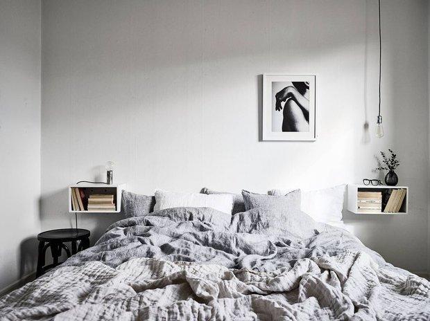 Фотография: Спальня в стиле Минимализм, Советы, уборка, лайфхаки – фото на INMYROOM