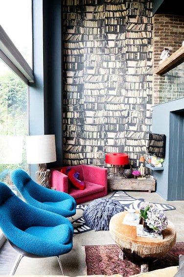 Фотография: Гостиная в стиле Эклектика, Декор интерьера, Квартира, Дома и квартиры – фото на INMYROOM