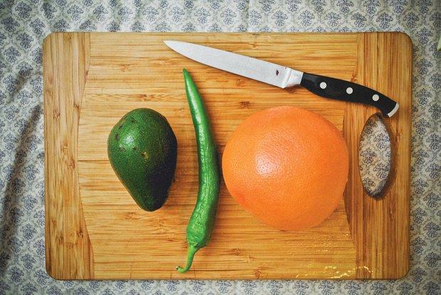 Фотография:  в стиле , Обед, Ужин, Перекусить, Салат, Жарить, Сырым, Кулинарные рецепты, 15 минут, Пришли гости – фото на INMYROOM