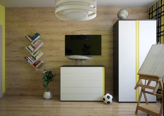 Фотография: Детская в стиле Современный, Эко, Декор интерьера, Советы, Перепланировка – фото на InMyRoom.ru