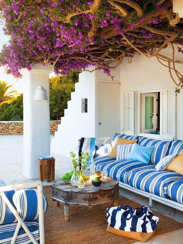 Фотография: Балкон, Терраса в стиле Восточный, Декор интерьера, Декор дома, Прованс – фото на INMYROOM