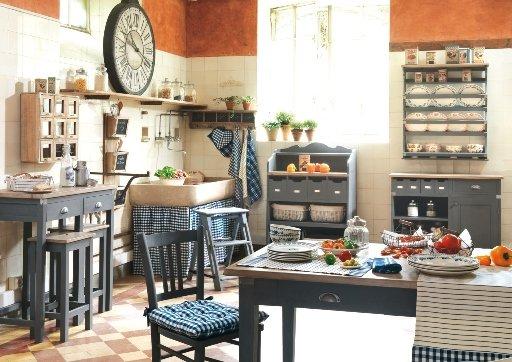 Фотография: Кухня и столовая в стиле Прованс и Кантри, Современный, Декор интерьера, Текстиль – фото на INMYROOM