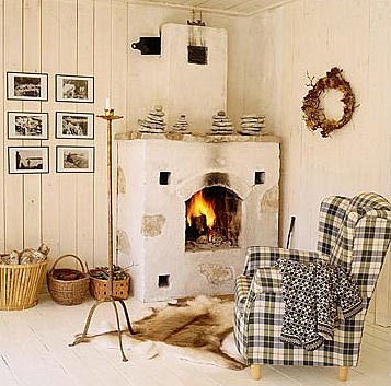 Фотография: Кухня и столовая в стиле Скандинавский, Декор интерьера, Декор дома, Прованс, Пол – фото на INMYROOM