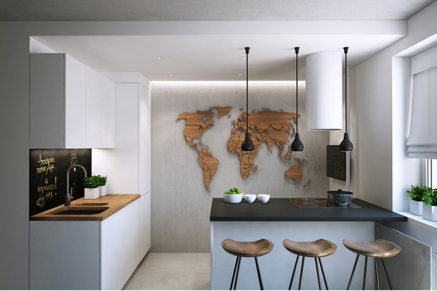 Фотография: Кухня и столовая в стиле Минимализм, Советы, Павел Герасимов, Geometrium – фото на InMyRoom.ru
