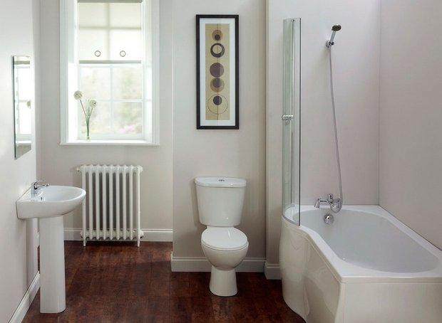 Фотография: Ванная в стиле Скандинавский, Восточный, Интерьер комнат – фото на INMYROOM