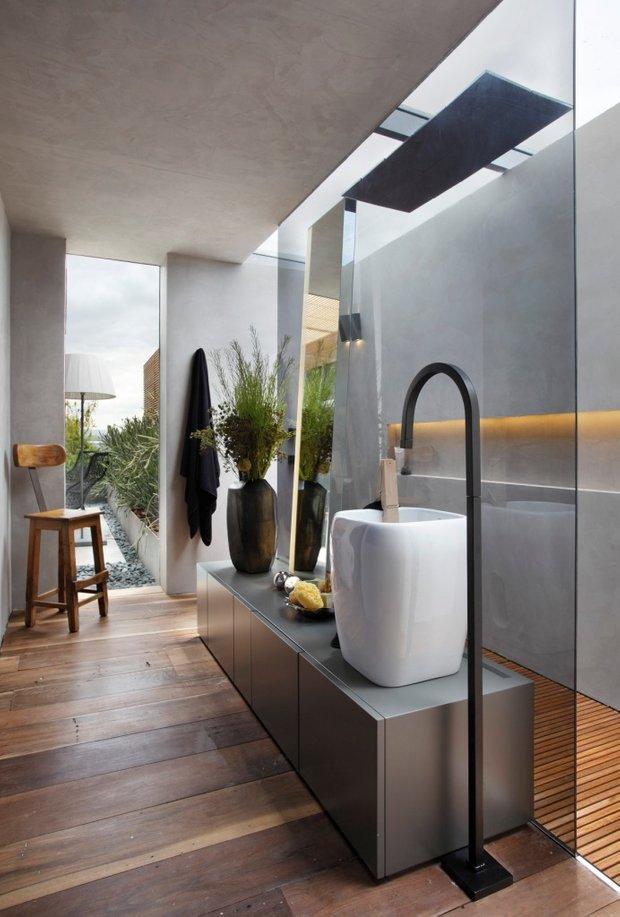 Фотография: Ванная в стиле Современный, Спальня, Декор интерьера, Интерьер комнат, Проект недели – фото на InMyRoom.ru