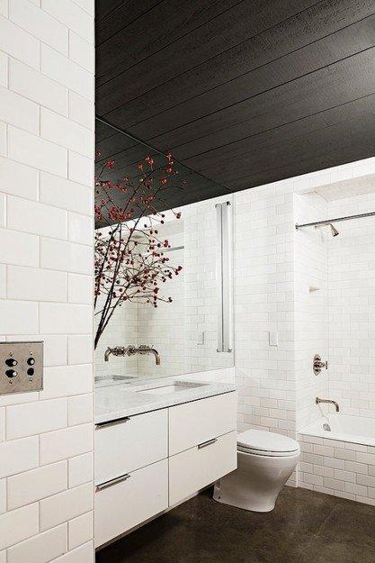 Фотография: Ванная в стиле Скандинавский, Лофт, Декор интерьера, Квартира, Дома и квартиры, Нью-Йорк – фото на INMYROOM