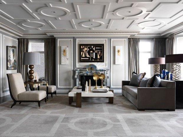 Фотография: Гостиная в стиле Классический, Современный, Гид, Жан-Луи Денио – фото на INMYROOM