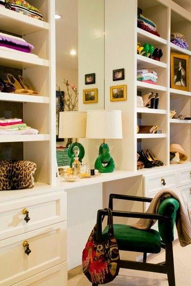 Фотография: Декор в стиле , Гардеробная, Хранение, Интерьер комнат – фото на INMYROOM