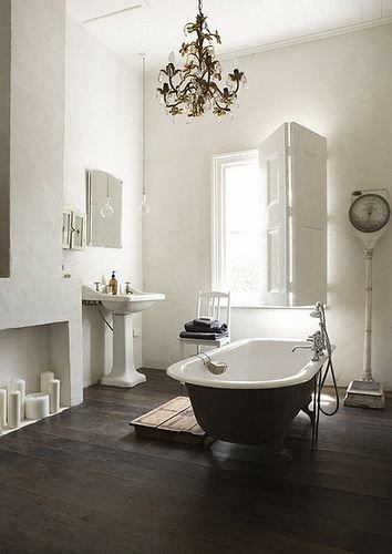 Фотография: Ванная в стиле Прованс и Кантри, DIY, Квартира, Переделка, Ремонт на практике, экспресс-ремонт, экспресс-ремонт ванной, экспресс-ремонт санузла, как быстро сделать ремонт в санузле – фото на INMYROOM