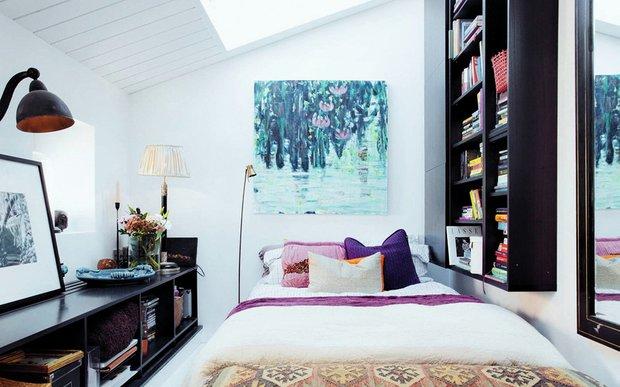 Фотография: Спальня в стиле Скандинавский, Эклектика, Декор интерьера, Квартира, Аксессуары, Декор, Мебель и свет – фото на INMYROOM