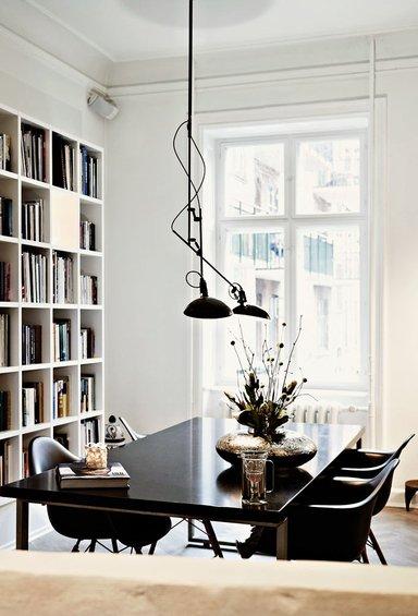 Фотография: Кабинет в стиле Скандинавский, Декор интерьера, Квартира, Дома и квартиры, Камин – фото на INMYROOM