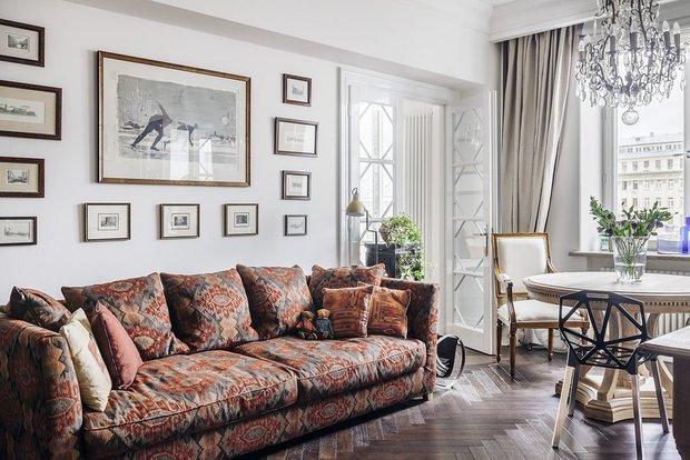 Фотография: Гостиная в стиле Эклектика, Гид, ДелоБанк, банк для ип, банк для предпринимателей, квартиры дизайнеров – фото на INMYROOM