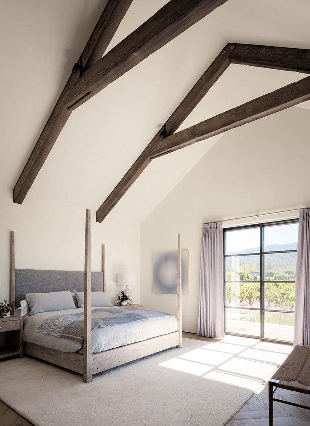 Фотография: Спальня в стиле Прованс и Кантри, Дом и дача – фото на INMYROOM
