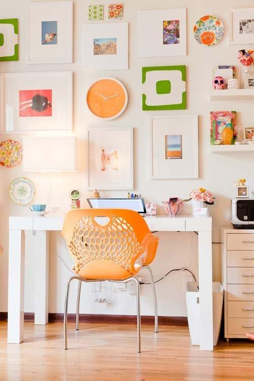 Фотография: Офис в стиле Современный, Декор интерьера, Квартира, Мебель и свет, Кресло – фото на INMYROOM
