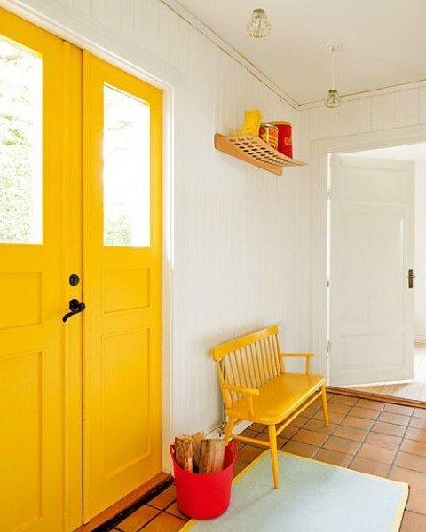 Фотография: Прихожая в стиле Скандинавский, Декор интерьера, Дизайн интерьера, Цвет в интерьере, Dulux, ColourFutures – фото на INMYROOM