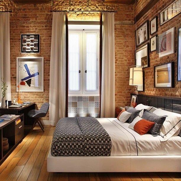 Фотография: Спальня в стиле Эклектика, Классический, Лофт, Декор, Минимализм, Ремонт на практике – фото на INMYROOM