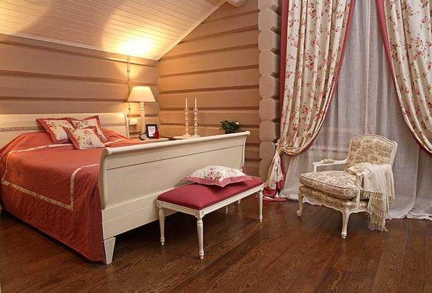 Фотография: Спальня в стиле Прованс и Кантри, Классический, Современный, Квартира, Дома и квартиры – фото на INMYROOM